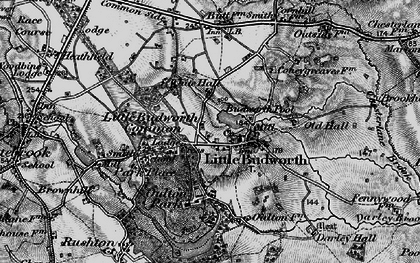 Old map of Little Budworth in 1897