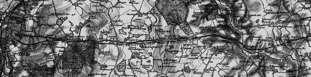 Old map of Langthorns in 1896