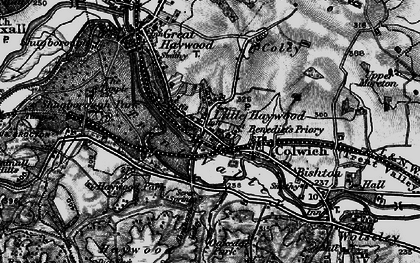 Old map of Abraham's Valley in 1898