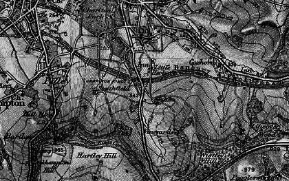Old map of Wistley Hill in 1896