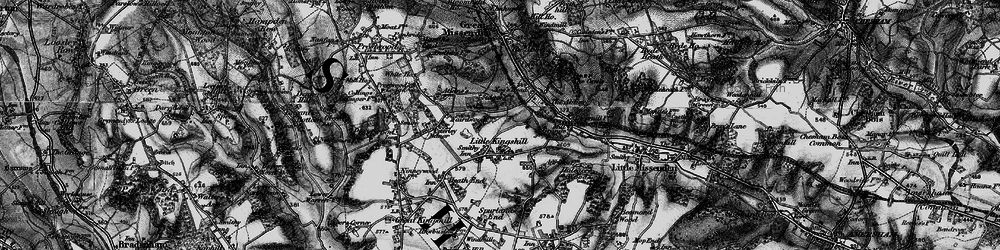 Old map of Little Kingshill in 1895