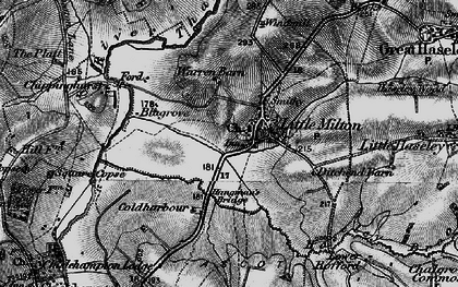 Old map of Little Milton in 1895