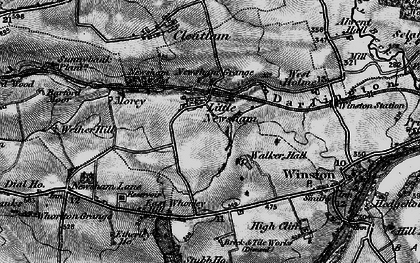 Old map of Westholme Hall in 1897
