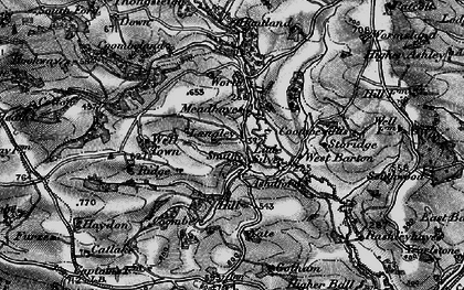Old map of Wormsland in 1898