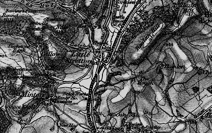 Old map of Ashes Hollow in 1899
