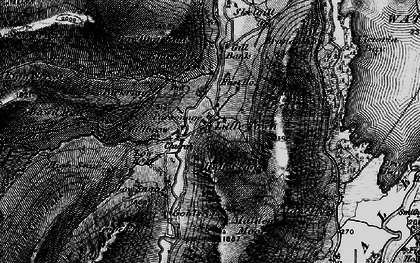 Old map of Aikin Knott in 1897