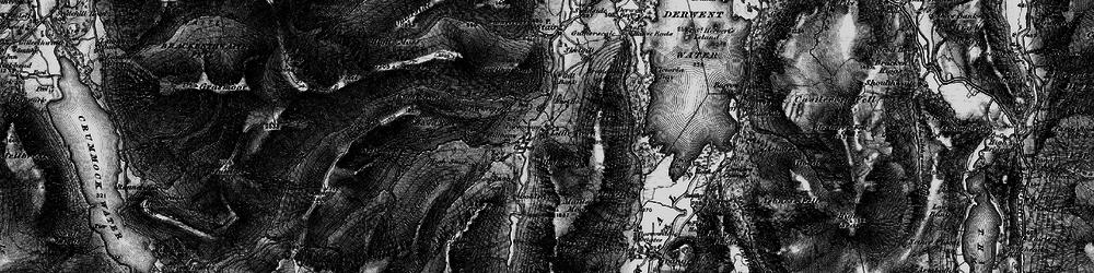 Old map of Aikin Knott in 1897