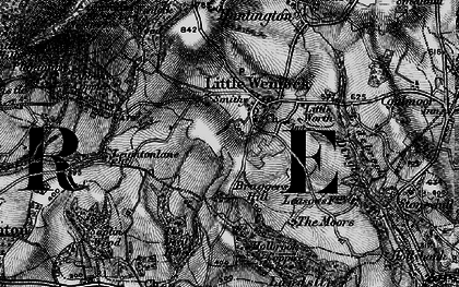 Old map of Little Wenlock in 1899