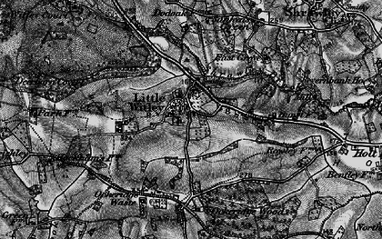 Old map of Little Witley in 1898