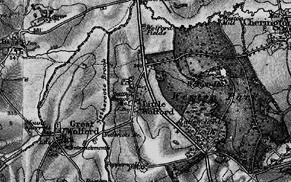 Old map of Weston Gardens in 1898