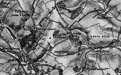 Old map of Tilbury Court in 1895