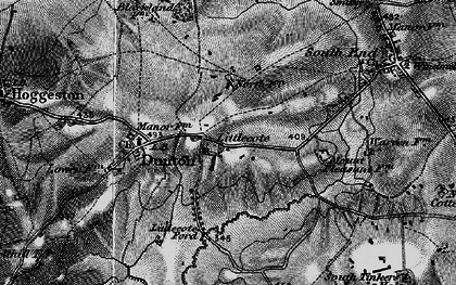 Old map of Lidcote Village in 1896
