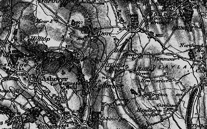 Old map of Littlemoor in 1896