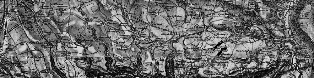 Old map of Litton in 1896