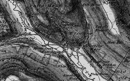 Old map of Ackerley Moor in 1897