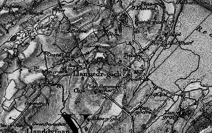 Old map of Ynys Isaf in 1899