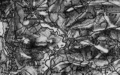 Old map of Bachell Brook in 1898