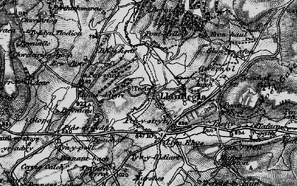 Old map of Accre in 1897