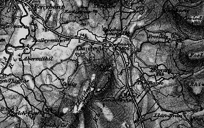 Old map of Bailey-mawr in 1899