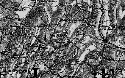 Old map of Llandrygan in 1899