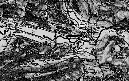 Old map of Allt Goch in 1897