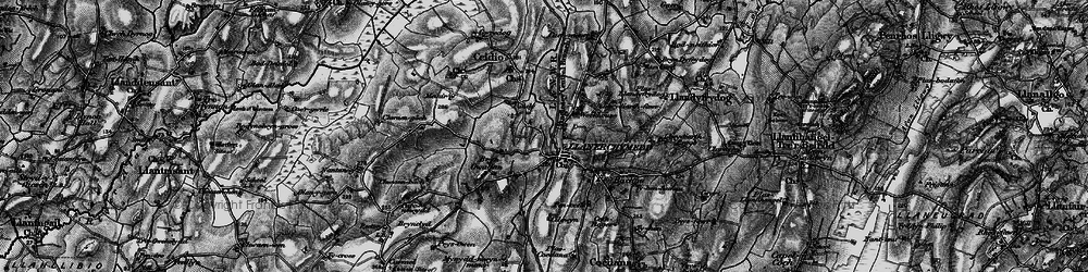 Old map of Wilpol in 1899