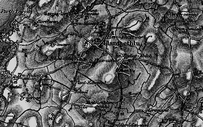 Old map of Llanfaethlu in 1899