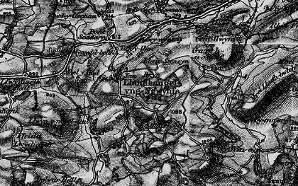 Old map of Adwywynt in 1899
