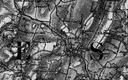 Old map of Ynys Goed in 1899