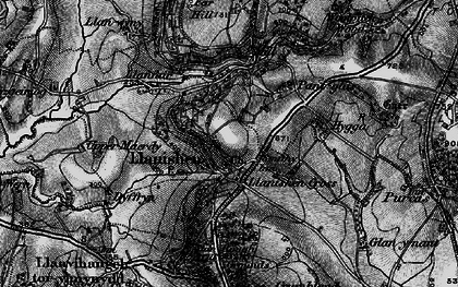 Old map of Woolpitch Wood in 1897