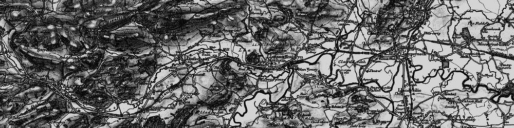 Old map of Y Ffrîdd in 1897