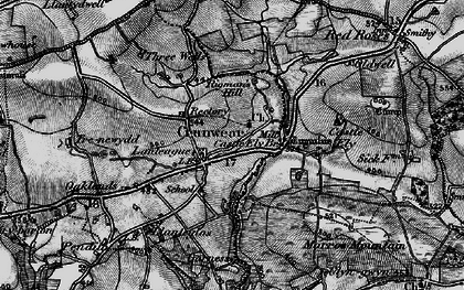 Old map of Ledgerland in 1898