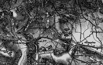 Old map of Whitebrook in 1897