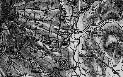 Old map of Winston Court in 1896