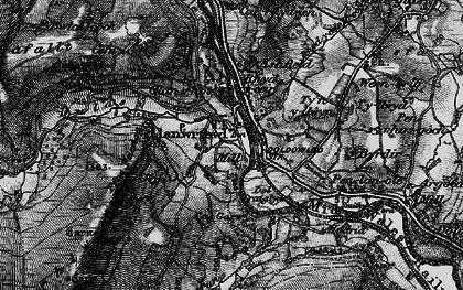 Old map of Ashfield in 1898