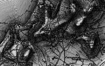 Old map of Llithfaen in 1899