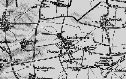 Old map of Windmill Whin in 1898