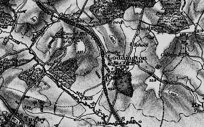 Old map of Withcote Lodge in 1899