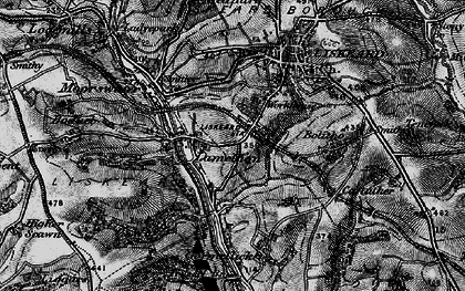 Old map of Lodge Hill in 1896