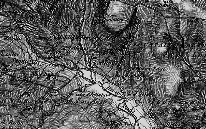 Old map of Lofthouse in 1897