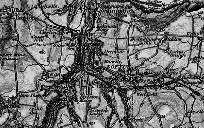 Old map of Loftus in 1898