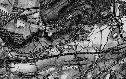 Old map of Ashton Hill in 1898