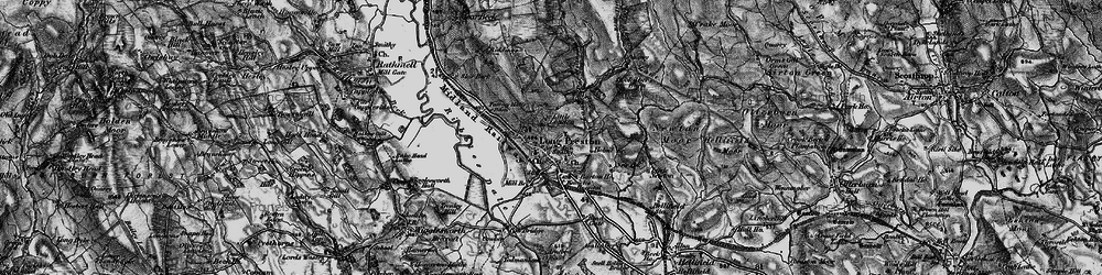Old map of Wild Share in 1898