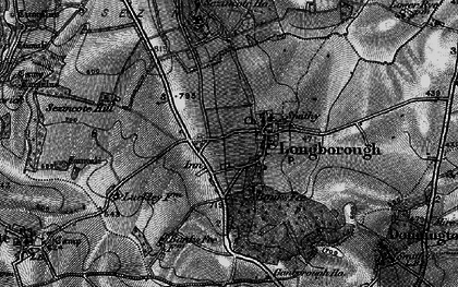 Old map of Banks Fee in 1896