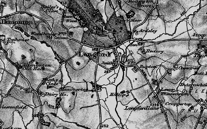 Old map of Bailey's Close in 1897