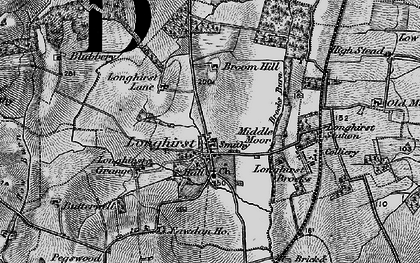 Old map of Longhirst in 1897