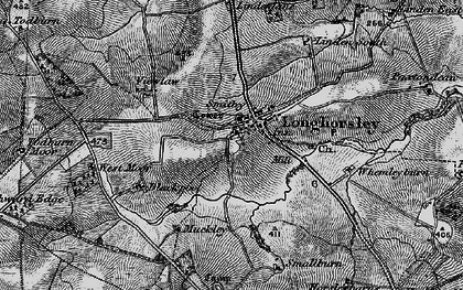 Old map of Linden Hill Head in 1897