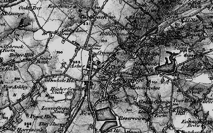 Old map of Alston Lodge in 1896