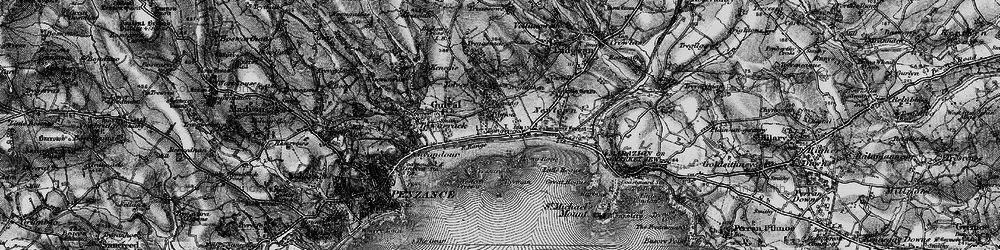Old map of Tolver in 1895
