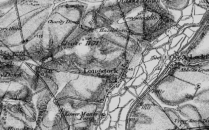 Old map of Atners Towers in 1895